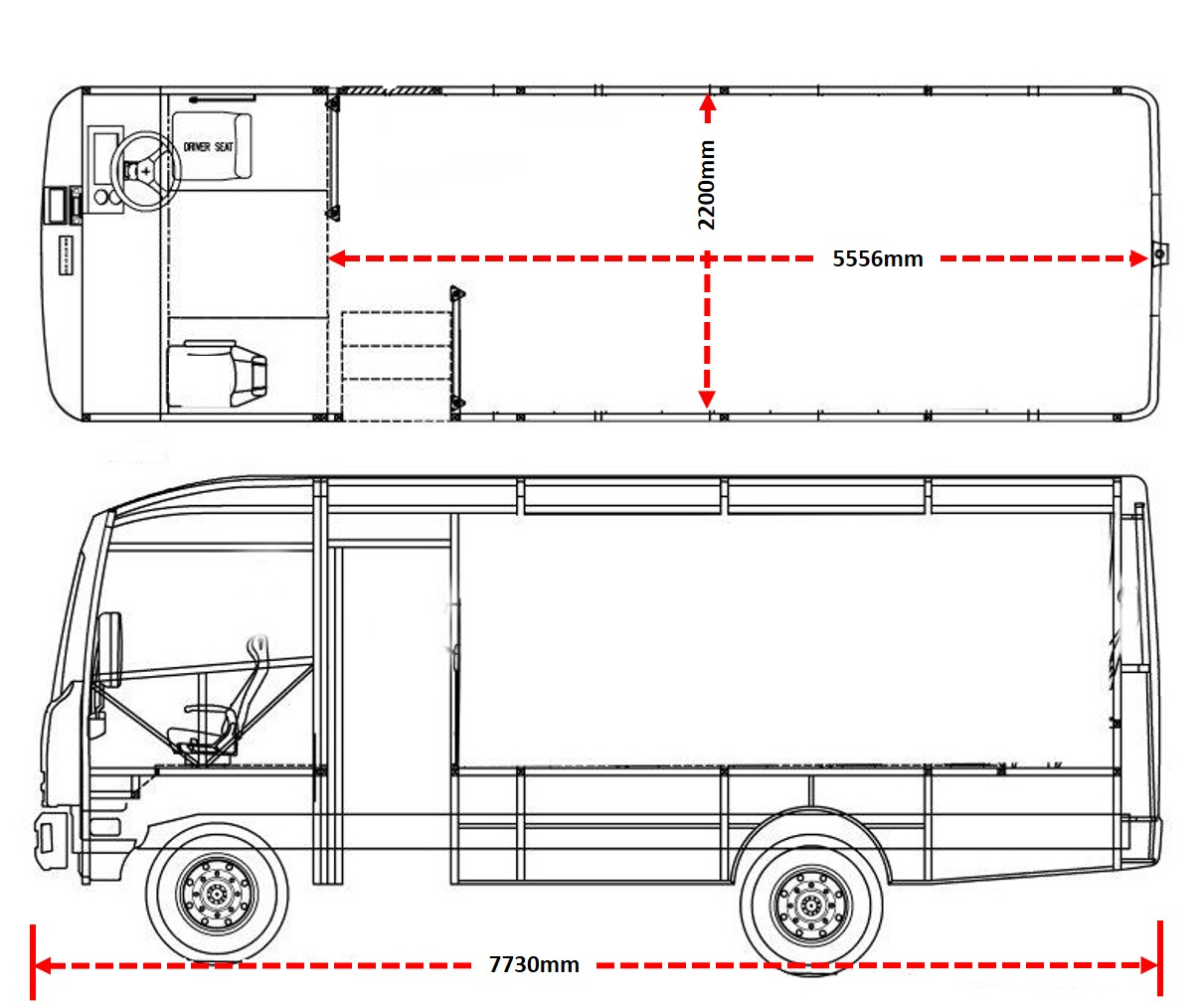 Bus Motorhome Layouts With Model Type
